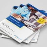 Magazine / Broschüren für die GVS Stuttgart, gestaltet von der Werbeagentur Azoro aus Hechingen