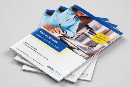 Magazin / Broschüre für die GVS Stuttgart, gestaltet von der Azoro Werbeagentur, Hechingen
