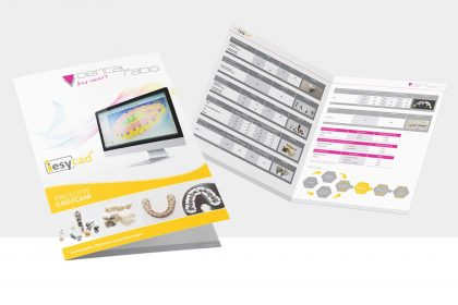 Neue Infoflyer / Preisliste für DENTALratio