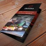 Flyer für das Okinawa Sushi Hechingen