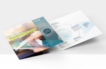 Infoflyer / Folder für Tender365