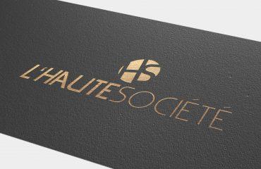 Logo für L'haute Société, Stuttgart