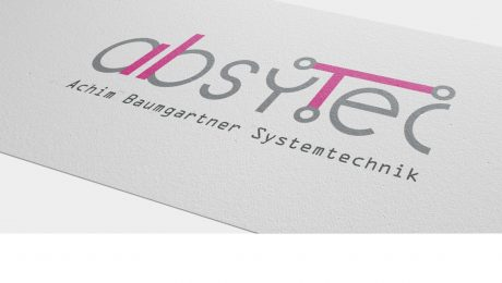 Logodesign für absytec Tübingen