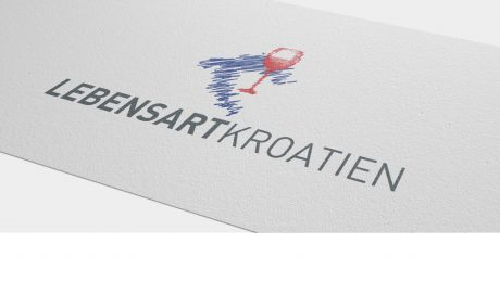 Logodesign für Lebensart Kroatien