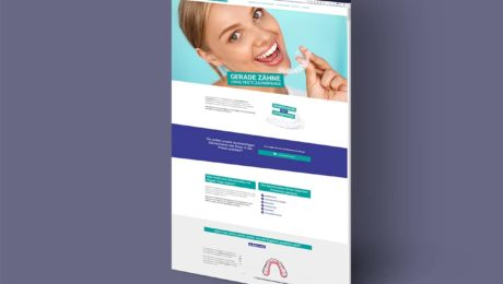 Webdesign für die Allgaier Dental-Technik GmbH, Nürtingen