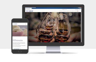 Webdesign für die Event Laboratory GmbH