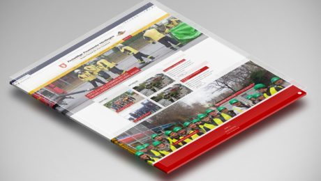 Webdesign für die Freiwillige Feuerwehr Hirrlingen