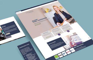 Webdesign für Buchführungsbüro Heymann Gmbh aus Norderstedt bei Hamburg