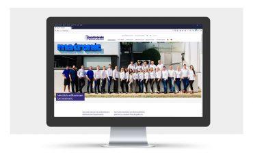 Webdesign für die matronic GmbH & Co. Electronic-Vertriebs KG, Tübingen