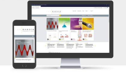 Webdesign für die Ovesco Endoscopy AG, Tübingen