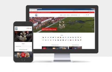 Webdesign und Onlineshop für Touchdown.Store