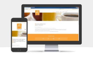 Webdesign für IT-Brunch Ludwigsburg