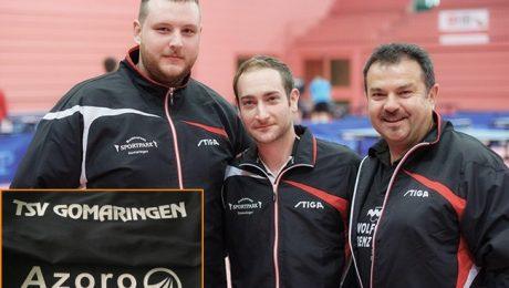 Sponsoring TSV Gomaringen Abt. Tischtennis